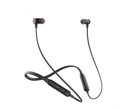 Handsfree Casti Bluetooth Awei In-Ear, G10BL, MultiPoint, Negru, Blister