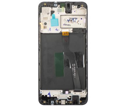 Display - Touchscreen Cu Rama Negru Samsung Galaxy A10 A105 GH82-20322A