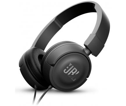 Casti On-Ear JBL T450, Cu microfon, 3.5 mm, Negru, Blister
