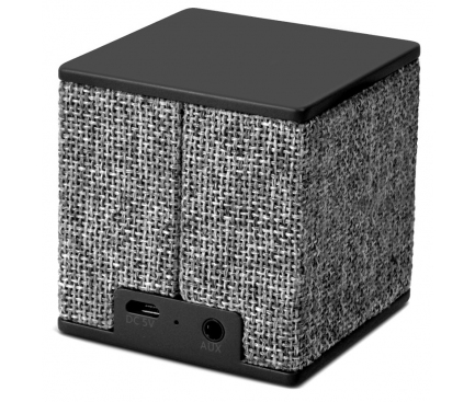 Difuzor Bluetooth Fresh'n Rebel Rockbox Cube, Gri, Blister