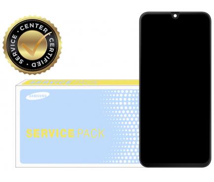 Display - Touchscreen Cu Rama, Negru Samsung Galaxy A70 A705 GH82-19747A