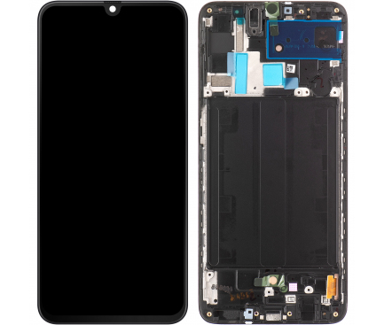 Display - Touchscreen Samsung Galaxy A70 A705, Cu Rama, Negru GH82-19747A