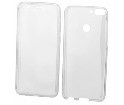 Husa Plastic - TPU OEM Full Cover pentru Samsung Galaxy A7 (2018) A750, Transparenta, Bulk