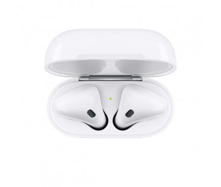 Handsfree Casti Bluetooth Apple Airpods 2, Alb MV7N2TY/A