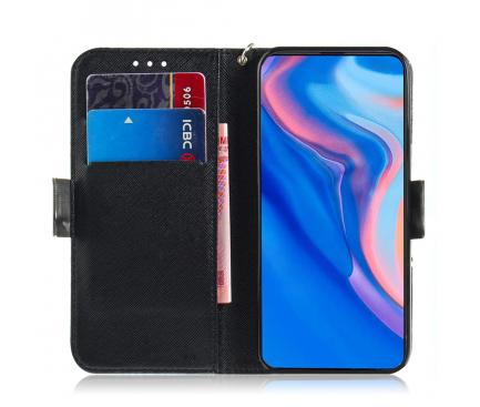 Husa Piele OEM Angry Bear pentru Huawei P Smart Z / Huawei Y9 (2019), Multicolor, Bulk