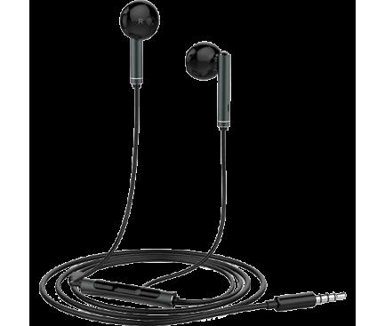 Handsfree Casti EarBuds Huawei AM116, Cu microfon, 3.5 mm, Negru, Blister 55030821