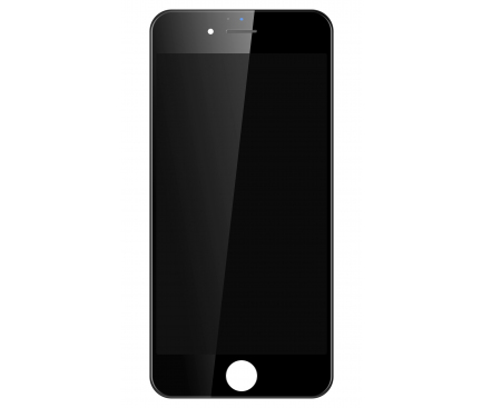 Display - Touchscreen Negru, Cu Rama Apple iPhone 6 Plus (Service Center)