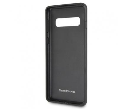 Husa Plastic MERCEDES Dynamic Line pentru Samsung Galaxy S10 G973, Neagra, Blister MEHCS10SRCFBK
