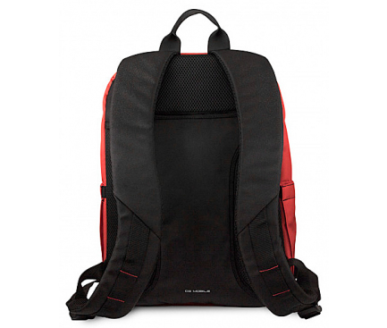 Rucsac textil Ferrari Urban Collection, 15 inci, Rosu FEURBP15RE