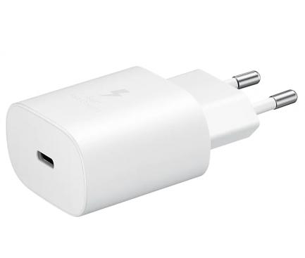 Incarcator Retea Samsung EP-TA800, Fast Charge, 25W, 1 X USB Tip-C, Alb, Blister EP-TA800XWEGWW