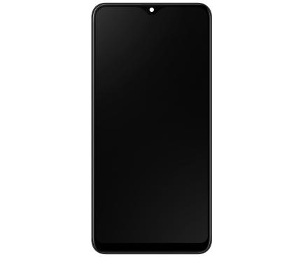 Display - Touchscreen Negru, Cu Rama Samsung Galaxy A20e A202 GH82-20186A