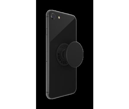 Suport Stand Adeziv Popsockets PopTop pentru telefon Black Blister Original