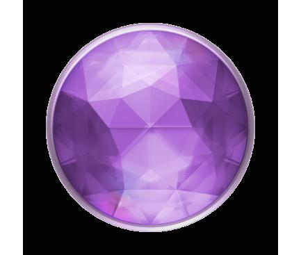 Suport Stand Adeziv Popsockets PopGrip Premium pentru telefon, Disco Crystal Orchid, Blister Original