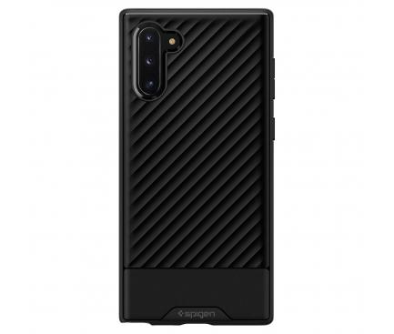Husa TPU Spigen Core Armor pentru Samsung Galaxy Note 10 N970, Neagra, Blister 628CS27408