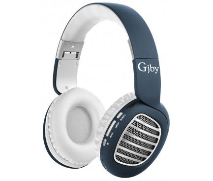 Handsfree Casti Bluetooth Gjby CA-020, SinglePoint, Albastru, Blister