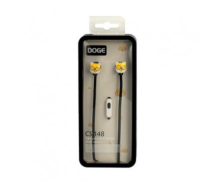 Handsfree Casti In-Ear DOGE CS148/1, Fara microfon, 3.5 mm, Multicolor, Blister
