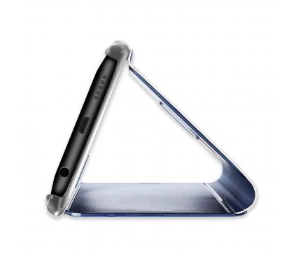 Husa Plastic OEM Clear View pentru Samsung Galaxy A20e, Albastra, Blister
