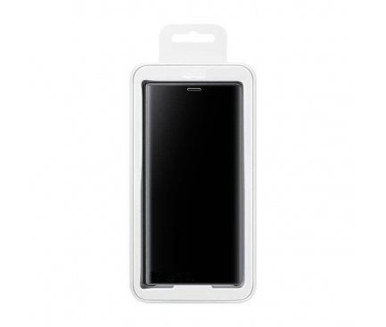 Husa Plastic OEM Clear View pentru Huawei P Smart Z, Neagra, Blister