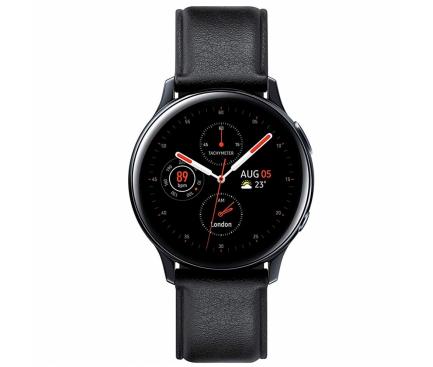Ceas Bluetooth Samsung Galaxy Watch Active2, Stainless, 44mm, Negru, Blister Original SM-R820NSKAROM