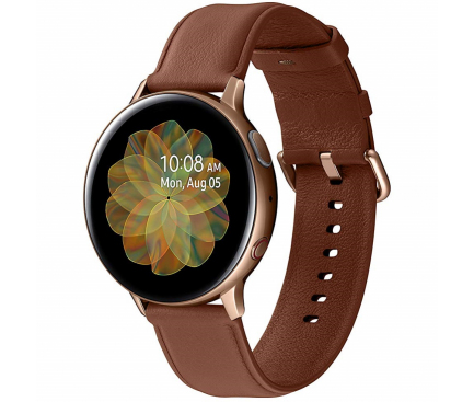 Ceas Bluetooth Samsung Galaxy Watch Active2, Stainless, 44mm, Auriu, Blister SM-R820NSDAROM