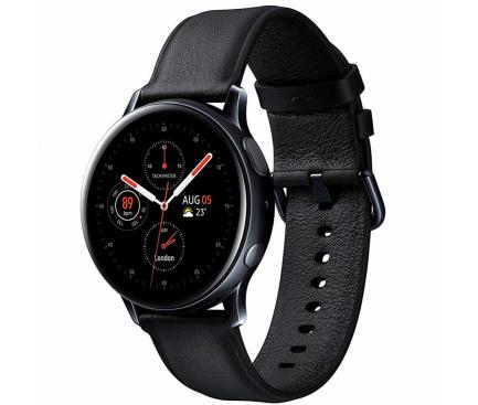 Ceas Bluetooth Samsung Galaxy Watch Active2, Stainless 40mm, Negru, Blister Original SM-R830NSKAROM