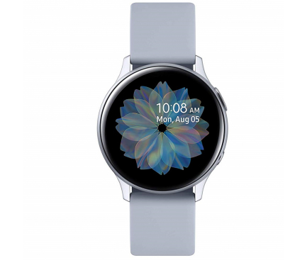 Ceas Bluetooth Samsung Galaxy Watch Active2, Aluminium, 44mm, Argintiu, Blister SM-R820NZSAROM