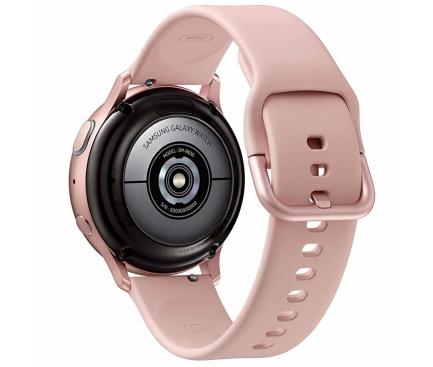 Ceas Bluetooth Samsung Galaxy Watch Active2, Aluminium, 40mm, Roz Auriu, Blister Original SM-R830NZDAROM