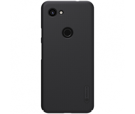 Husa Plastic Nillkin Super Frosted pentru Google Pixel 3a XL, Neagra, Blister