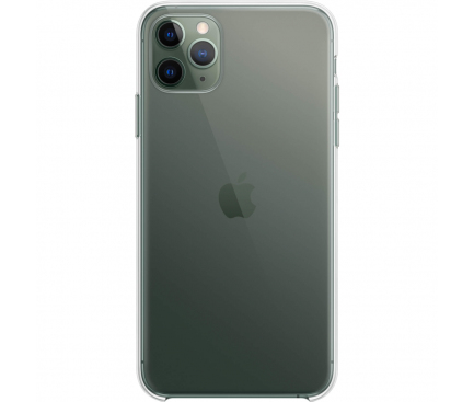 Husa Plastic Apple iPhone 11 Pro Max, Clear Case, Transparenta, Blister MX0H2ZM/A