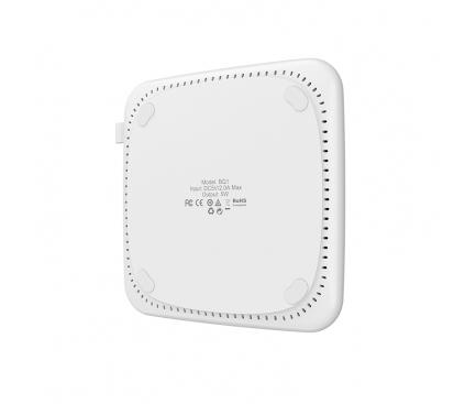 Incarcator Retea Wireless Borofone AirSense BQ1, 5W, Alb, Blister