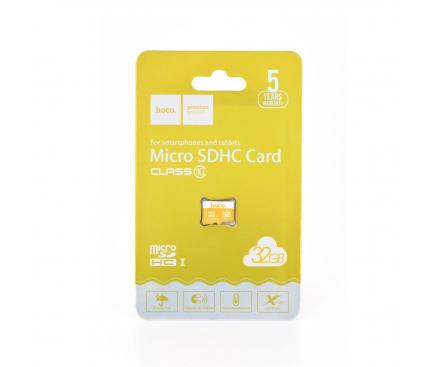 Card Memorie MicroSDHC HOCO, 32Gb, Clasa 10