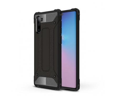 Husa Plastic - TPU OEM Tough Armor pentru Samsung Galaxy Note 10 N970 / Samsung Galaxy Note 10 5G N971, Neagra, Bulk
