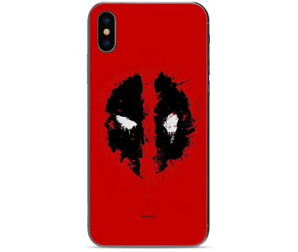 Husa TPU Marvel Deadpool 012 pentru Apple iPhone 11 Pro Max, Rosie, Blister
