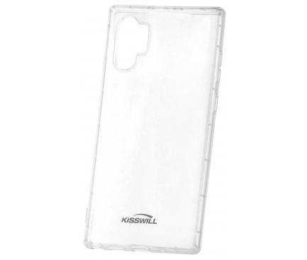 Husa TPU Kisswill Air Around pentru Samsung Galaxy Note 10 N970 / Samsung Galaxy Note 10 5G N971, Transparenta, Blister