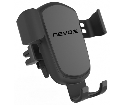 Incarcator Auto Wireless Nevox 1702, Quick Charge, 10W, Negru, Blister WC-1702
