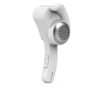 Handsfree Casca Bluetooth Remax RB-T10, Multipoint, Alb, Blister