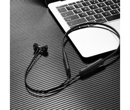 Handsfree Casti Bluetooth Borofone Sport Graceful BE23, SinglePoint, Negru, Blister