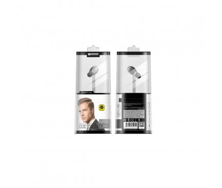 Handsfree Casca Bluetooth Borofone Well BC3, SinglePoint, Gri, Blister