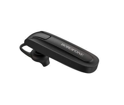 Handsfree Casca Bluetooth Borofone Encourage BC21, SinglePoint, Negru, Blister