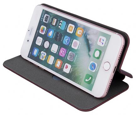 Husa Piele OEM Elegance Universala pentru Telefon 5,6 - 6,0 inci, 159 x 78 mm, Neagra