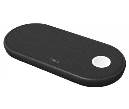 Incarcator Retea Wireless UNIQ Aereo,Quick Charge, Negru