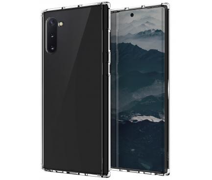 Husa TPU UNIQ Lifepro Xtreme Antisoc pentru Samsung Galaxy Note 10 N970 / Samsung Galaxy Note 10 5G N971, Glitter, Transparenta, Blister