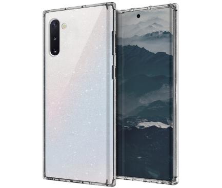 Husa TPU UNIQ Lifepro Tinsel pentru Samsung Galaxy Note 10 N970 / Samsung Galaxy Note 10 5G N971, Transparenta, Blister