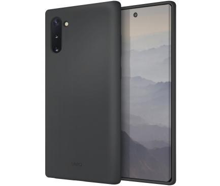 Husa TPU UNIQ Lino pentru Samsung Galaxy Note 10 N970 / Samsung Galaxy Note 10 5G N971, Gri, Blister