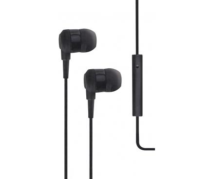 Handsfree Casti In-Ear TTEC J10, Cu microfon, 3.5 mm, Negru, Blister 2KMM10S