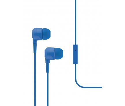 Handsfree Casti In-Ear TTEC J10, Cu microfon, 3.5 mm, Albastru, Blister 2KMM10M