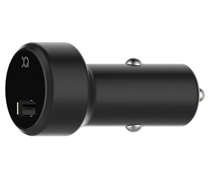 Incarcator Auto USB Xqisit, 1 X USB, 2.4A, Negru, Blister
