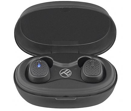 Handsfree Casti Bluetooth Tellur Mood TWS, SinglePoint, Negru, Blister TLL511331