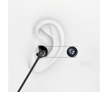 Handsfree Casti Bluetooth Baseus S11A Encok Necklace, Negru, Blister NGS11A-01