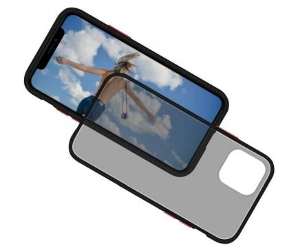 Husa TPU Goospery Mercury Peach Garden pentru Samsung Galaxy Note 10 N970 / Samsung Galaxy Note 10 5G N971, Neagra, Blister